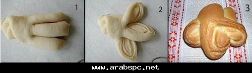 Как сделать формы для булочек из дрожжевого теста
